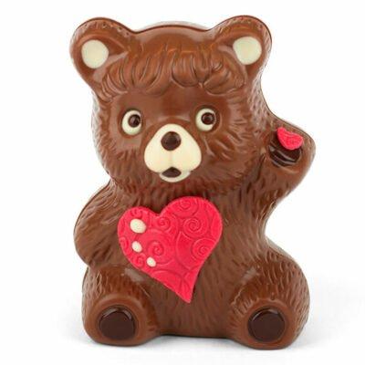 Bengelmann großer Schoko-Teddy mit Herz