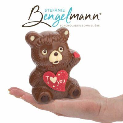 Bengelmann Schoko-Teddy auf der Hand