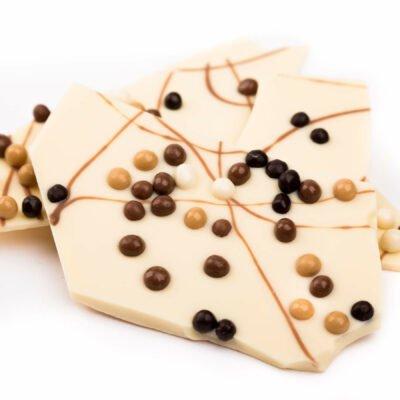 Bengelmann weiße crispy Bruchschokolade