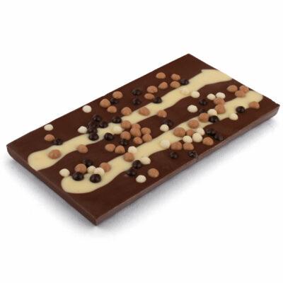 Schokoladentafel Vollmilch mit Schoko-Crisps