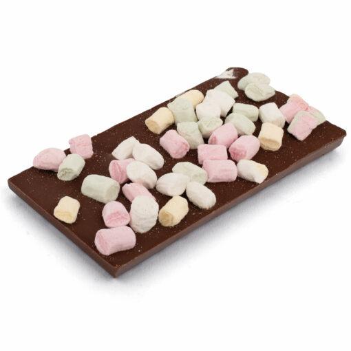Vollmilch Schokoladentafel mit Marshmallows Bengelmann