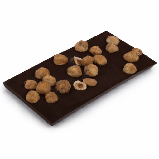 Schokoladentafel mit Haselnüssen Bengelmann