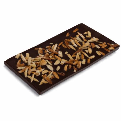 Schokoladentafel mit Mandelsplittern Bengelmann