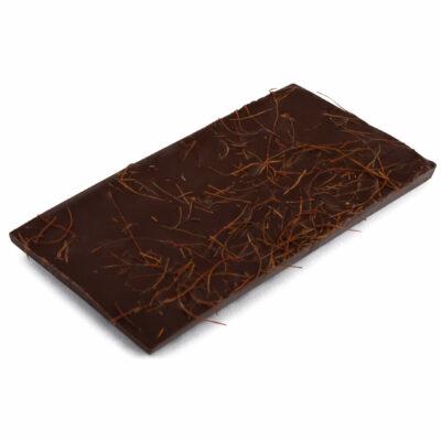 Zartbitter Schokoladentafel mit Chili